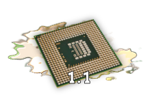 The characteristics of contemporary processors, input, output and storage devices