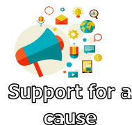 Support for a cause