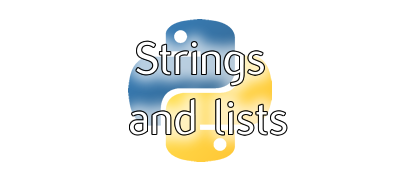 Strings and lists